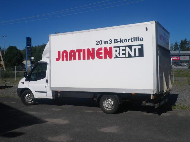 Autovuokraamo Jaatinen Rent, Jyväskylä.